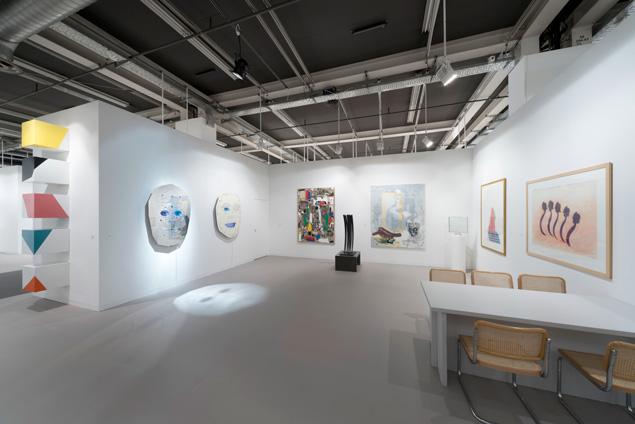 Galerie Hans Mayer auf der Art Basel 2017