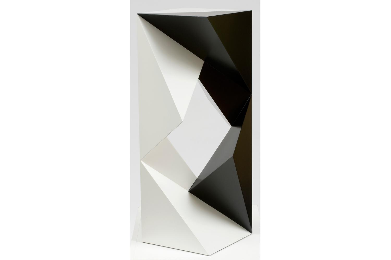 9d47cf6e25e9 Komposition aus acht Sechstelelementen, 2008, 82 x 44 x 44 cm, sheet steel,  paint