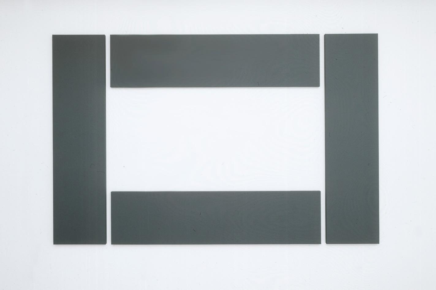 Artists Gallery Hans Mayer Open Electrical Panels Are Dangerous C Daniel Friedman Border Painting 1992 180 X 279 Cm 4 Parts Acrylic On Cotton Duck Canvas