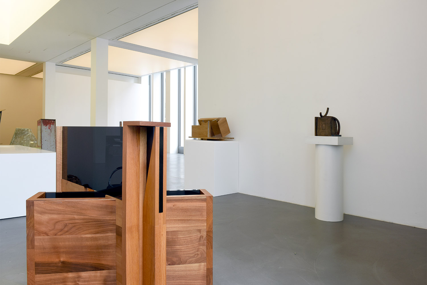 ... Anthony Caro, Installation View ...