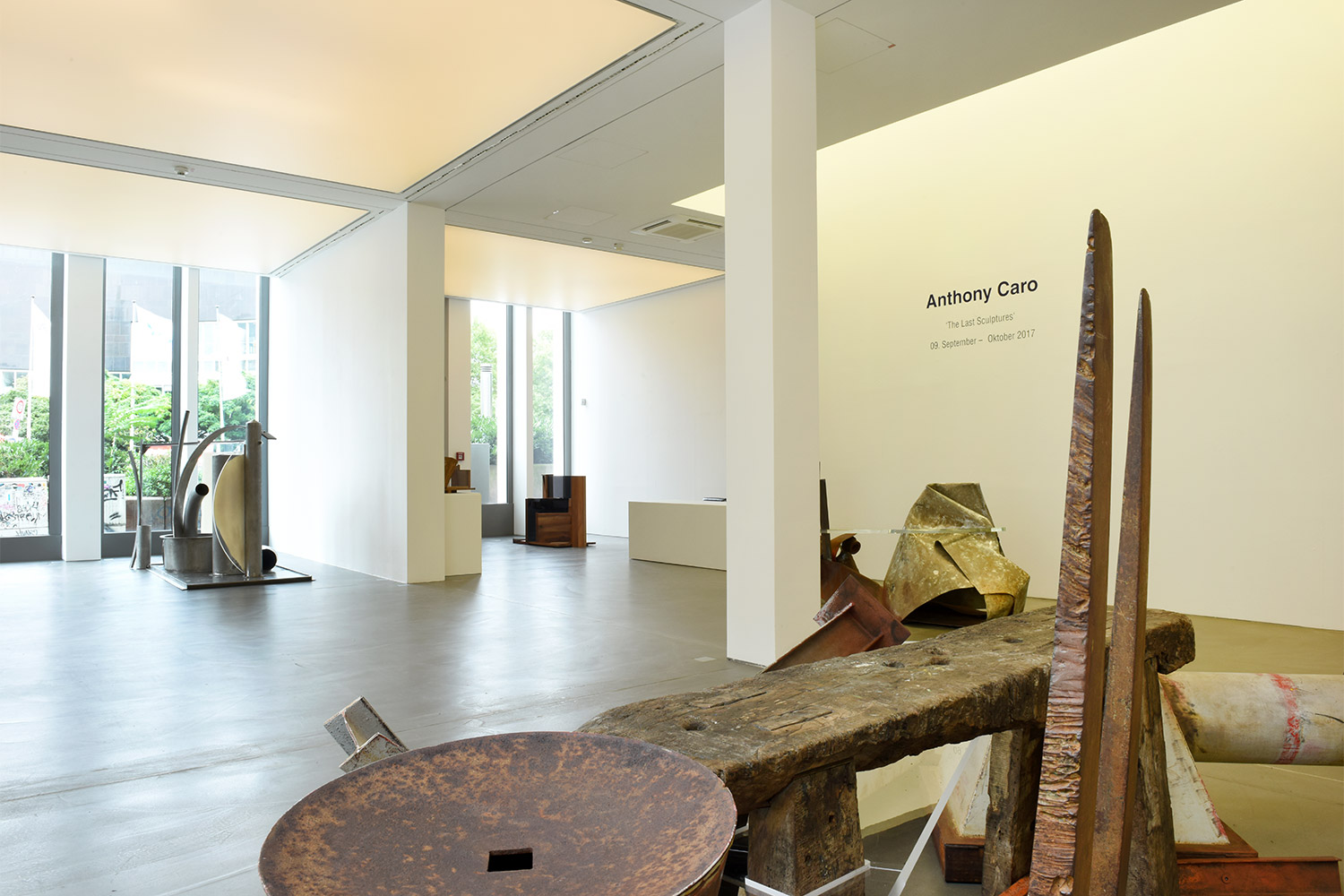 Exhibitions Gallery Hans Mayer Origami Dinosaur Diagrams Claudia39s Room Pinterest Anthony Caro Installation View
