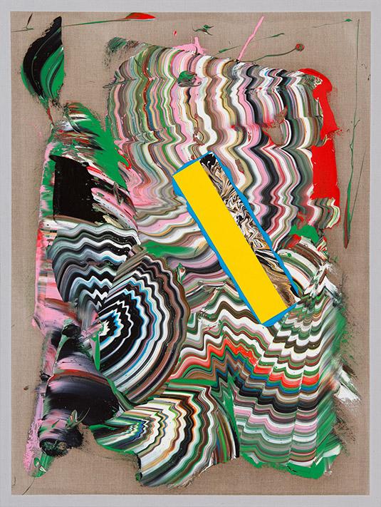 Zander Blom, Untitled (1.811), 2016, 122 x 92 cm, Oil on linen